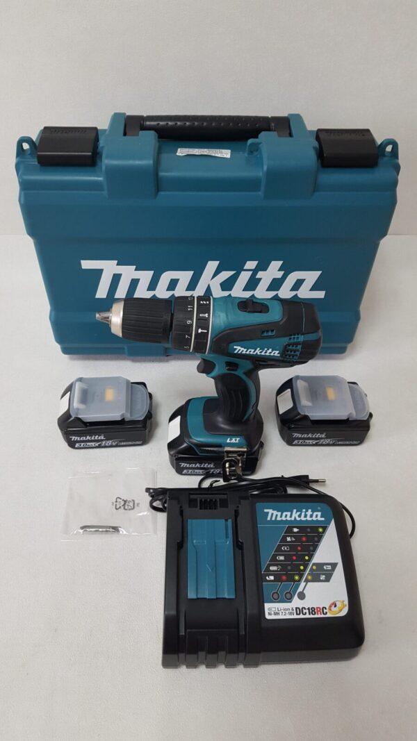 Шуруповерт Makita DHP456RFE3