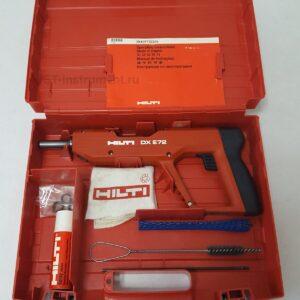 Монтажный пистолет HILTI DX E72