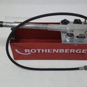 Опрессовочный насос Rothenberger RP 50