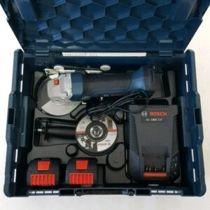 Ушм (Болгарка) акк. Bosch GWS 18-125 V-LI L-boxx(Новая)