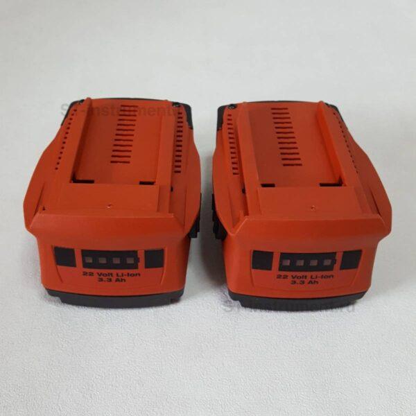 Аккумуляторы Hilti 3.3ah/22в (Новые)