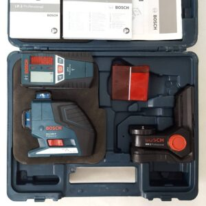Лазерный уровень Bosch GLL 3-80 P + BM1 + LR2