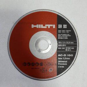 Отрезные диски Hilti AC-D 150мм (Новые)