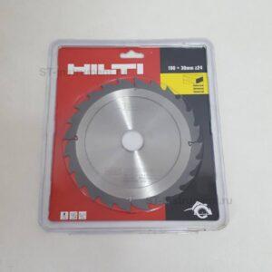Hilti SCB WU 190x30 z24 диски по дереву (Новые)