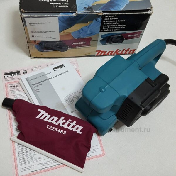 Ленточная шлифмашина Makita 9911 (Новая)