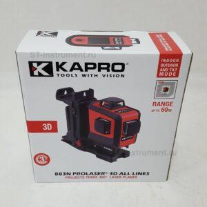 Лазерный уровень Kapro 883N 3D (Новый)