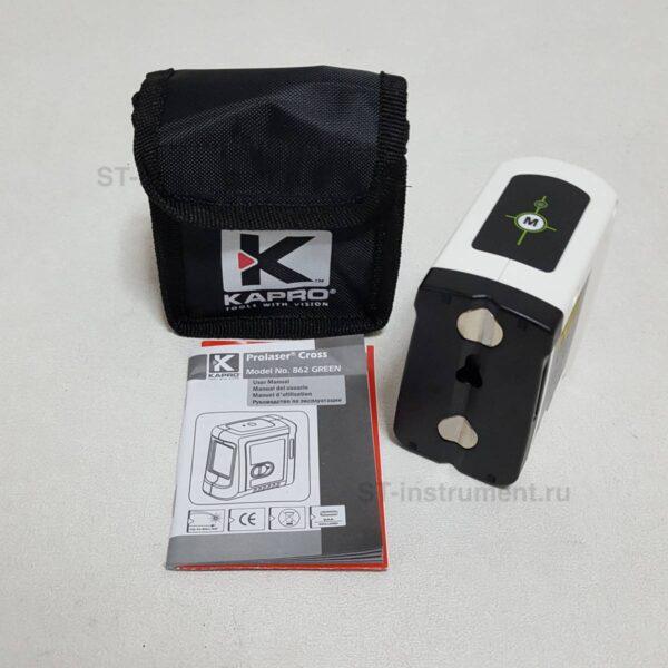 Лазерный уровень Kapro 862 Green зелёный луч(Новый)