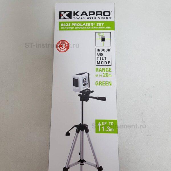 Лазерный уровень Kapro 862G зел.луч+штатив(Новый)