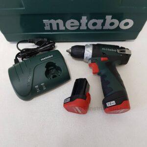 Шуруповерт Metabo PowerMaxx BS 10,8V (600080500)