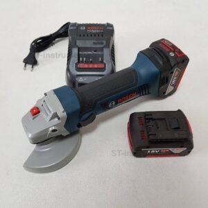 Ушм (болгарка) Bosch GWS 18-125 V-LI 5.0Ач*2 (Новые)