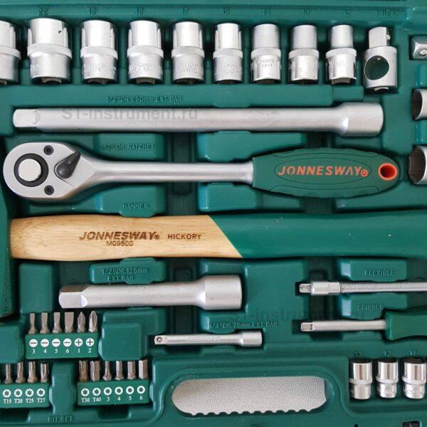 Набор инструментов Jonnesway S04H52460S (Новый) 60 предметов