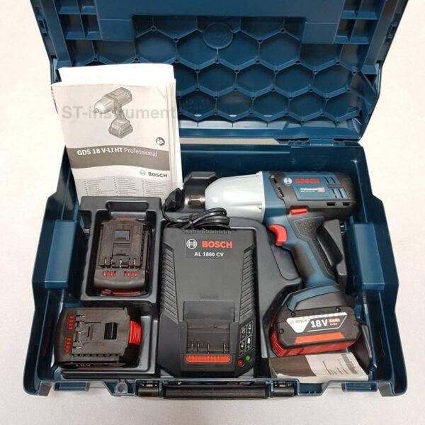 Гайковерт Bosch GDS 18 V-LI HT (Новые,3акб 5.0ah)