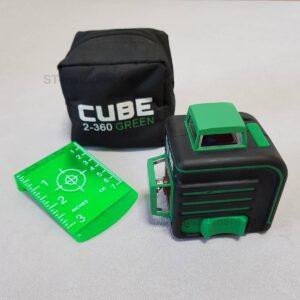 Лазерный уровень ADA Cube 2-360 Green (Новые)
